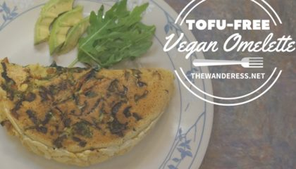 The Best Tofu-free Vegan Omelette!