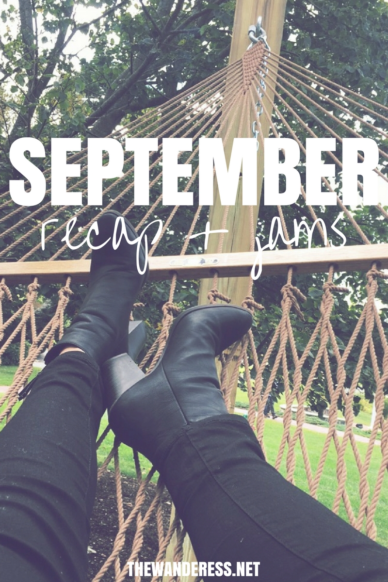 September Weather- I've been spending my commute to work and school discovering some new jams so check out September's playlist:
